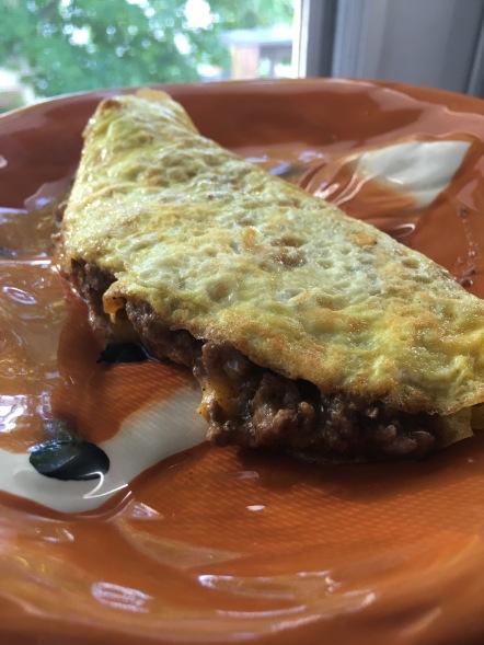 famous taco eggs