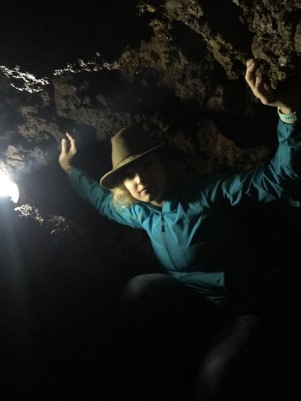 holding up the caves